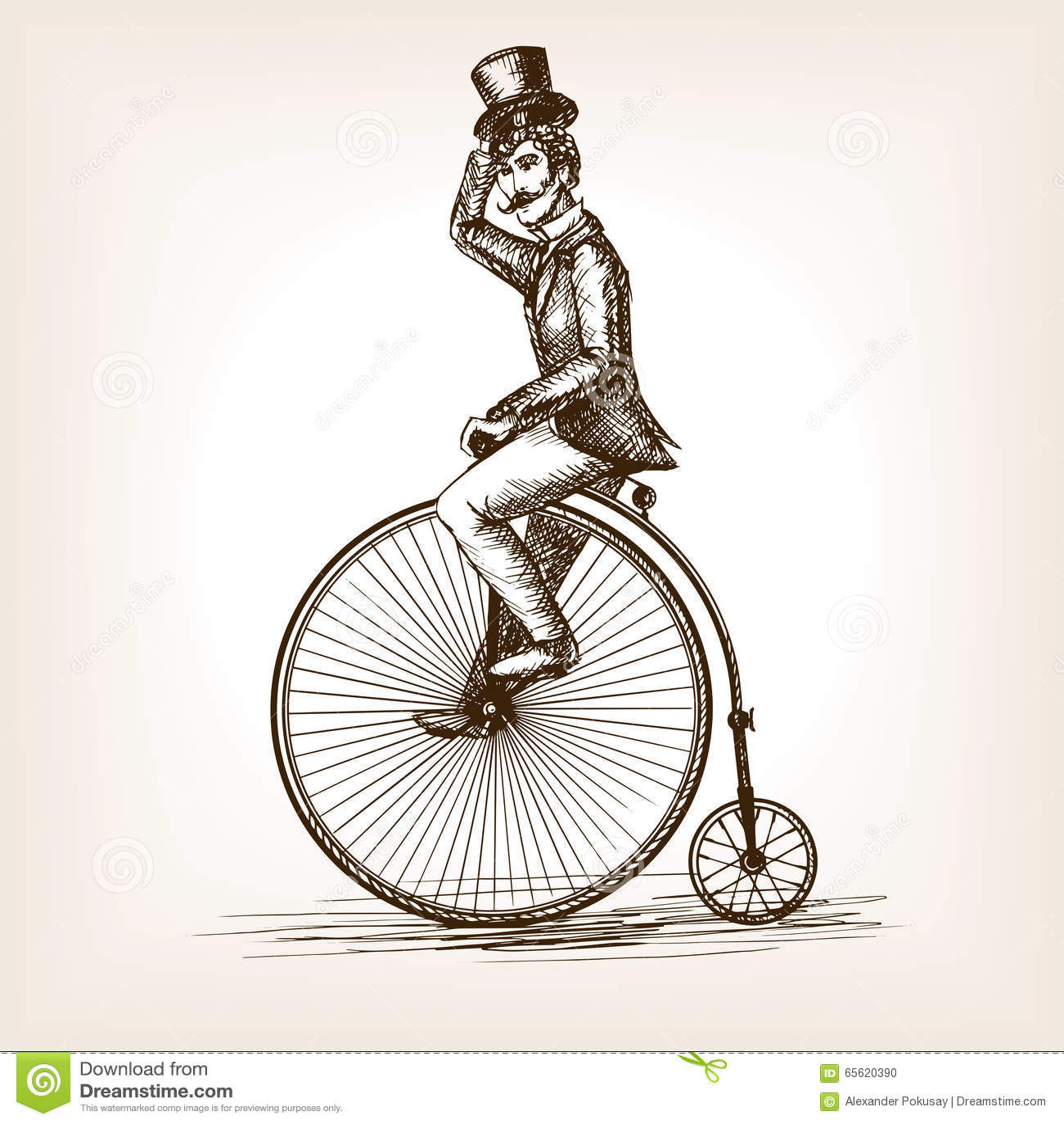 Old Fashioned Style Bike