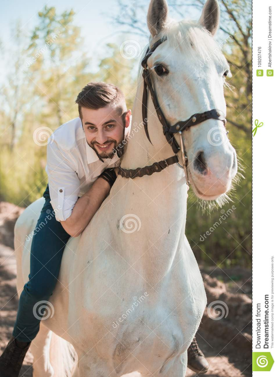Horse Man Posing Riding Photos Free Royalty Free Stock Photos From Dreamstime