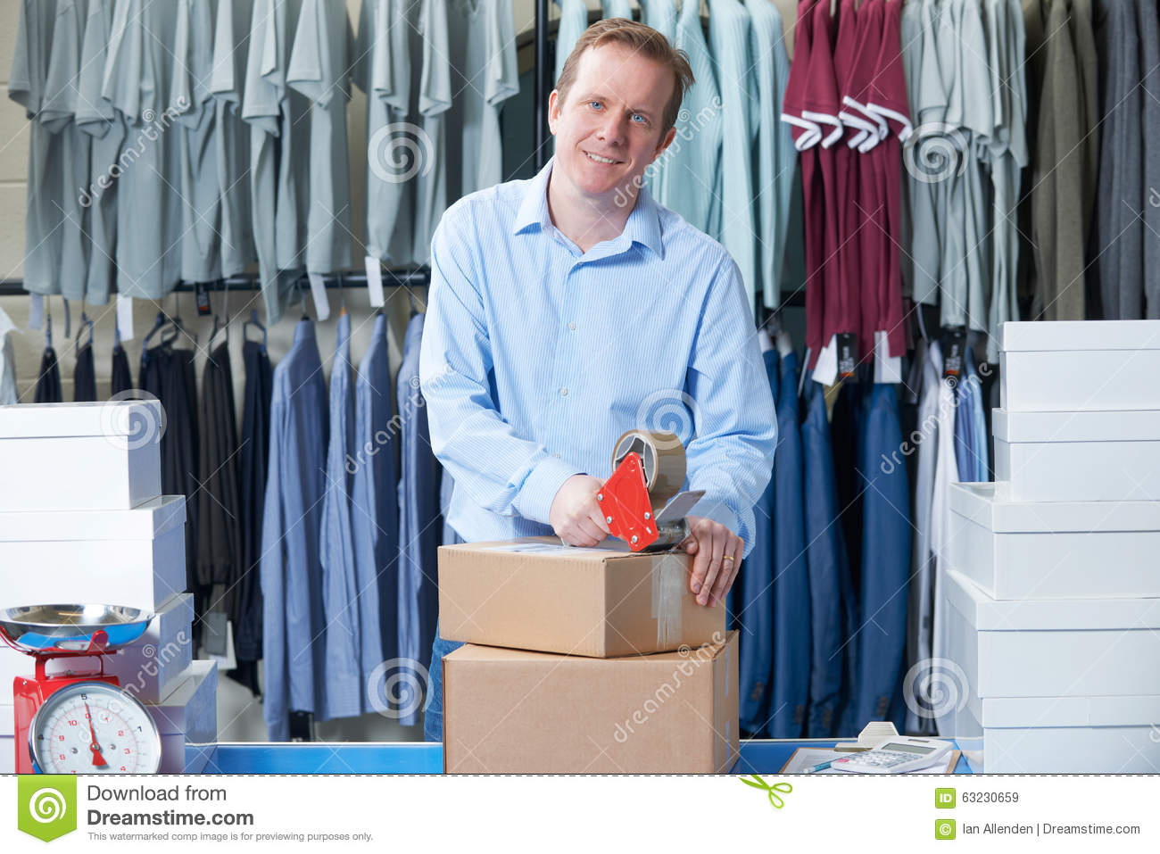 Running an online clothing store
