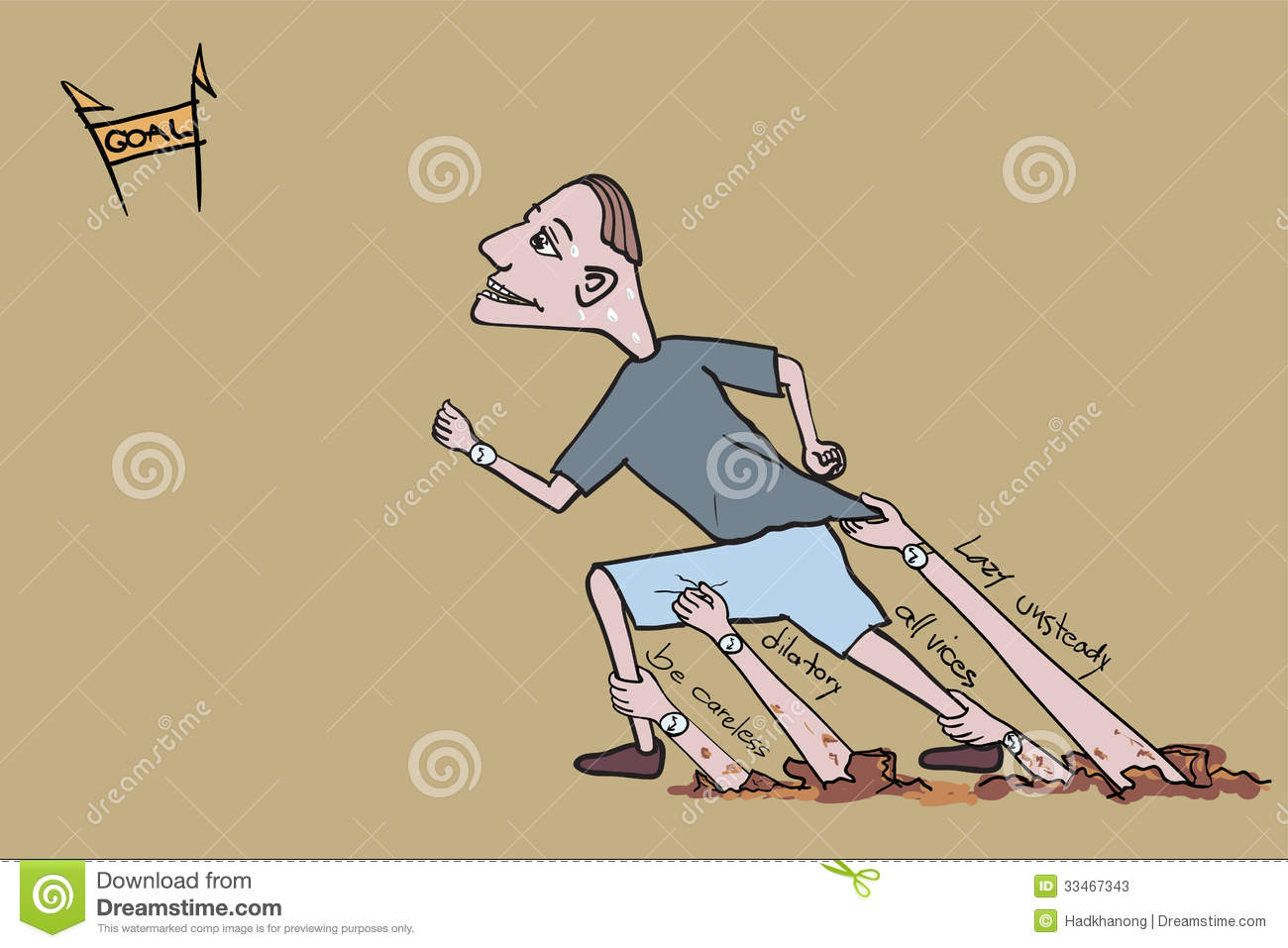 Vector Clipart - Woman jogging in slow pace, female sportsman running the  track in red top and blue short in racing competition illustration. Vector  Illustration gg94653859 - GoGraph