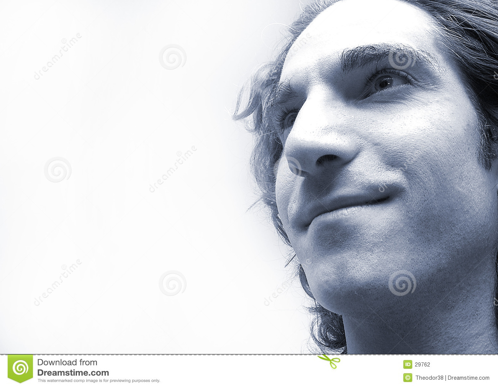 Man s face