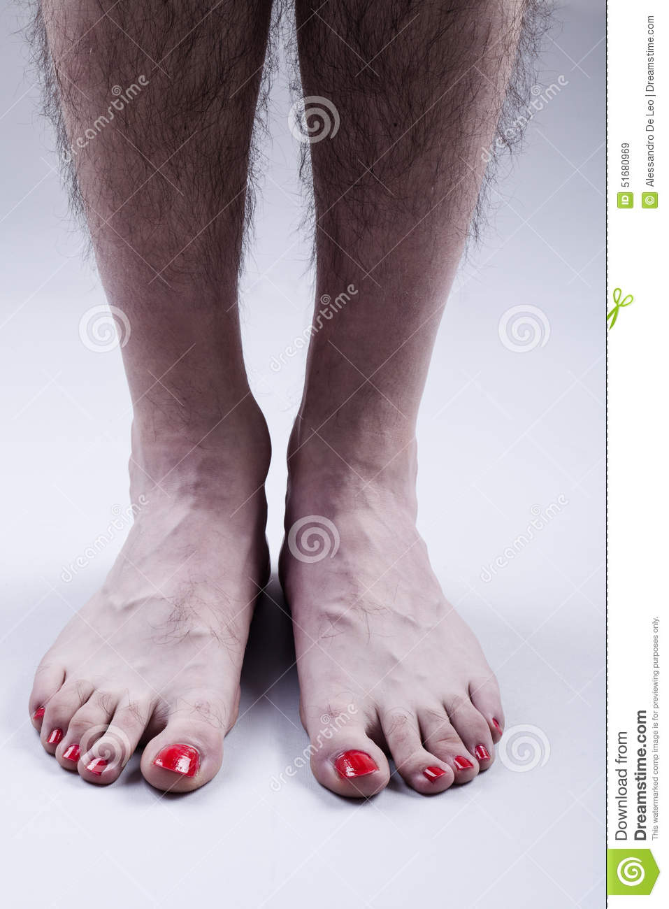 Hairy women and feet