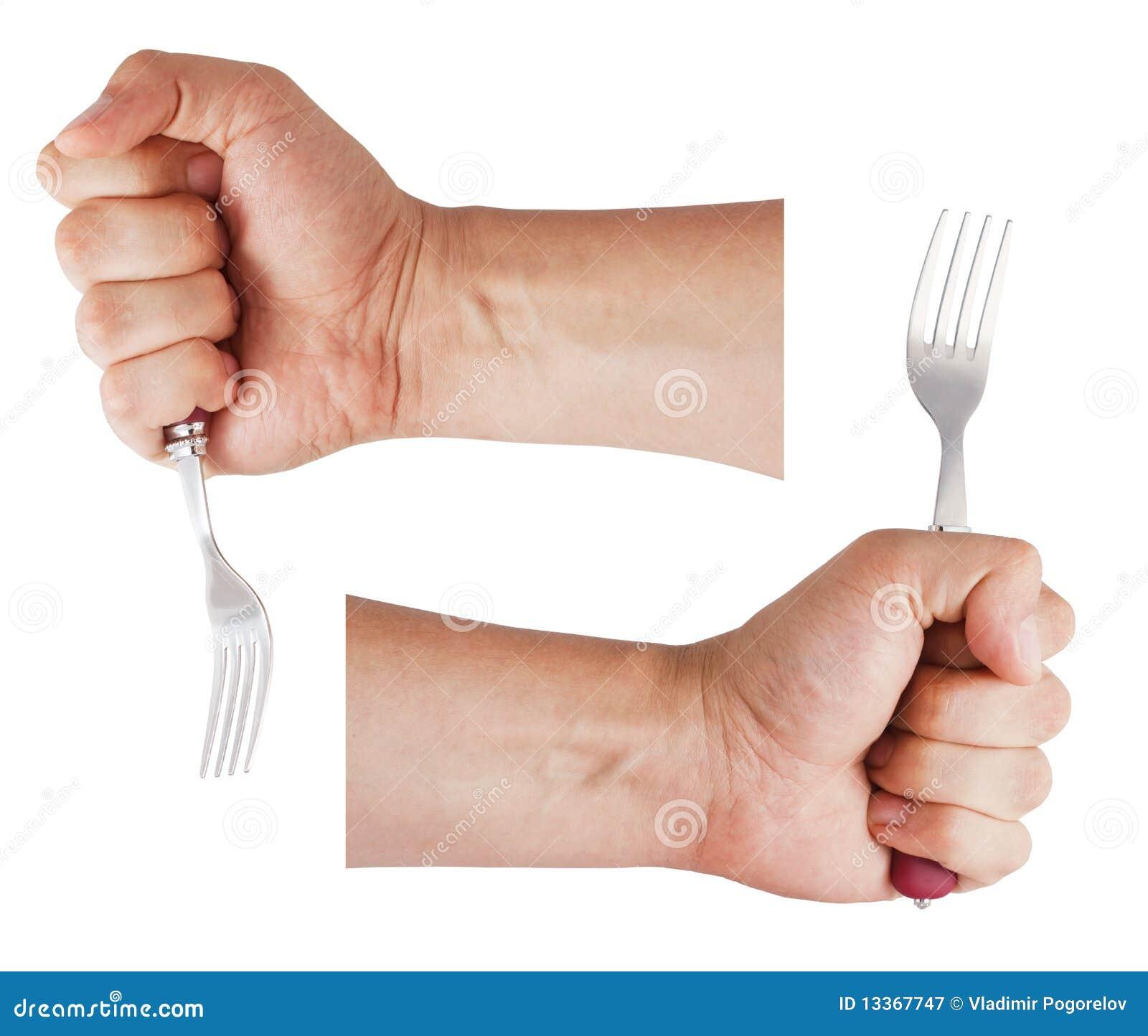 https://thumbs.dreamstime.com/z/man-s-hand-holds-fork-13367747.jpg