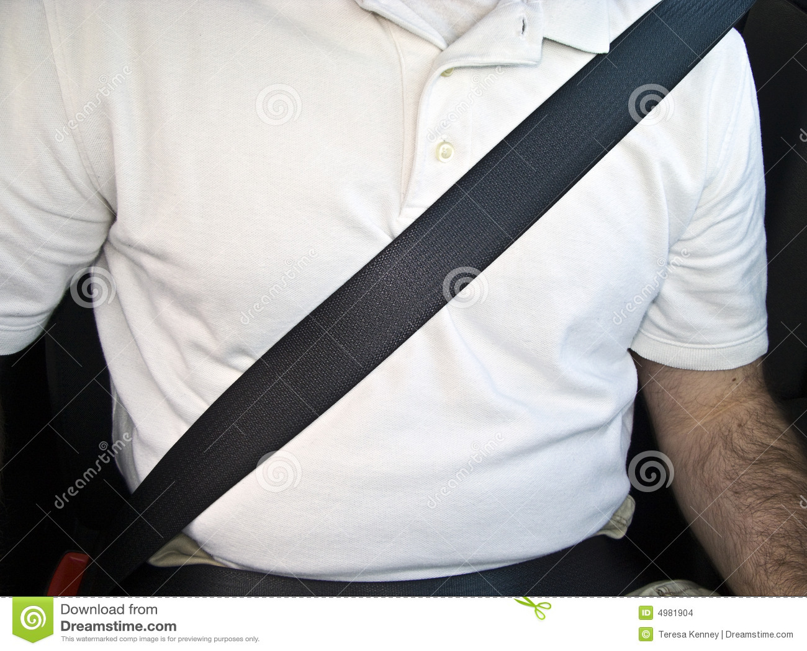 man with seat belt stock photo image of belt black