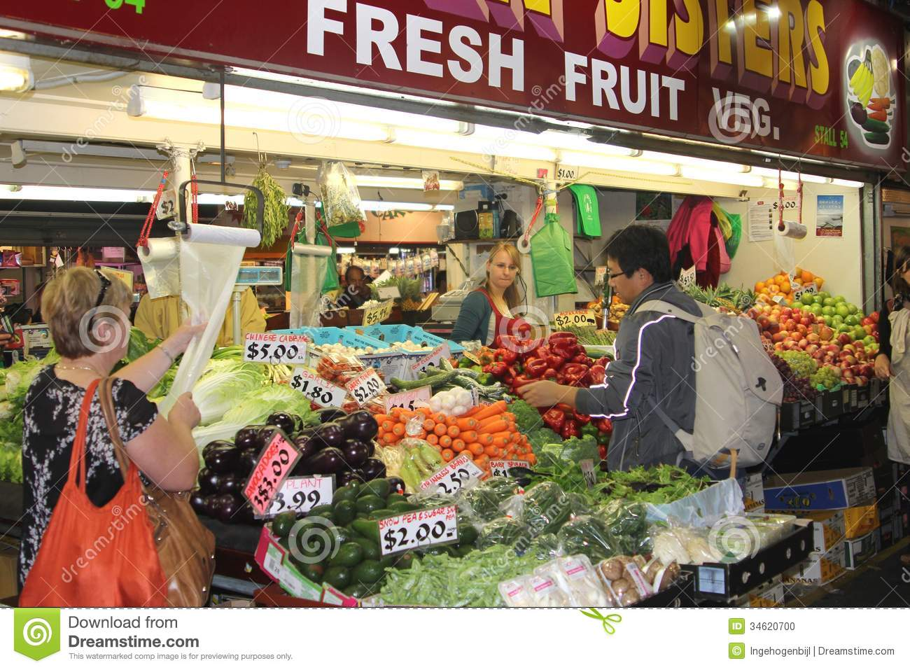 the selling of fruit and vegetables Farmers' markets may be indoors or outdoors and typically consist of booths,  tables or stands where farmers sell fruits, vegetables, meats, cheeses, and.