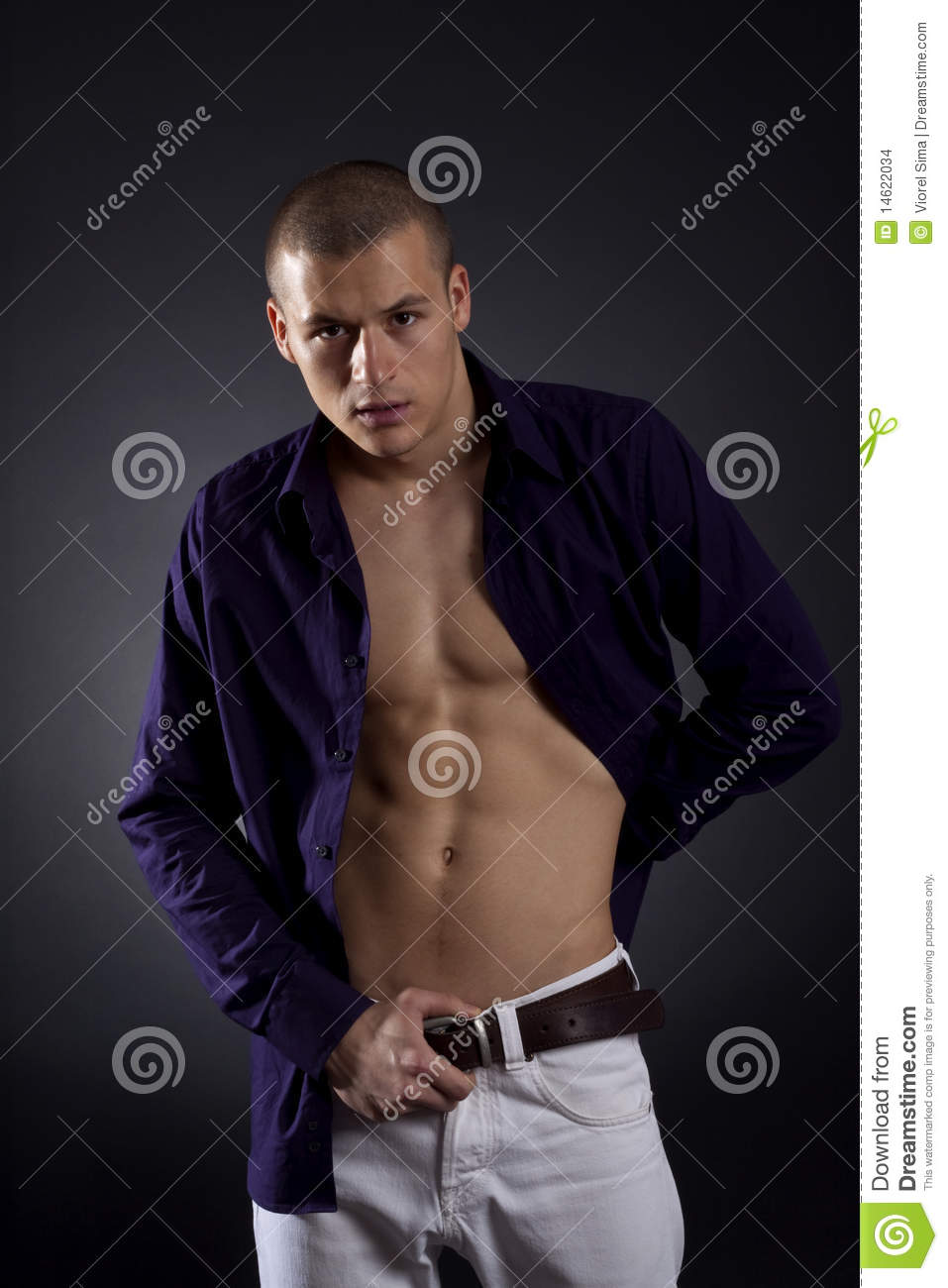 Man Shows Beautiful Body Stock Images - Image 14622034-3036
