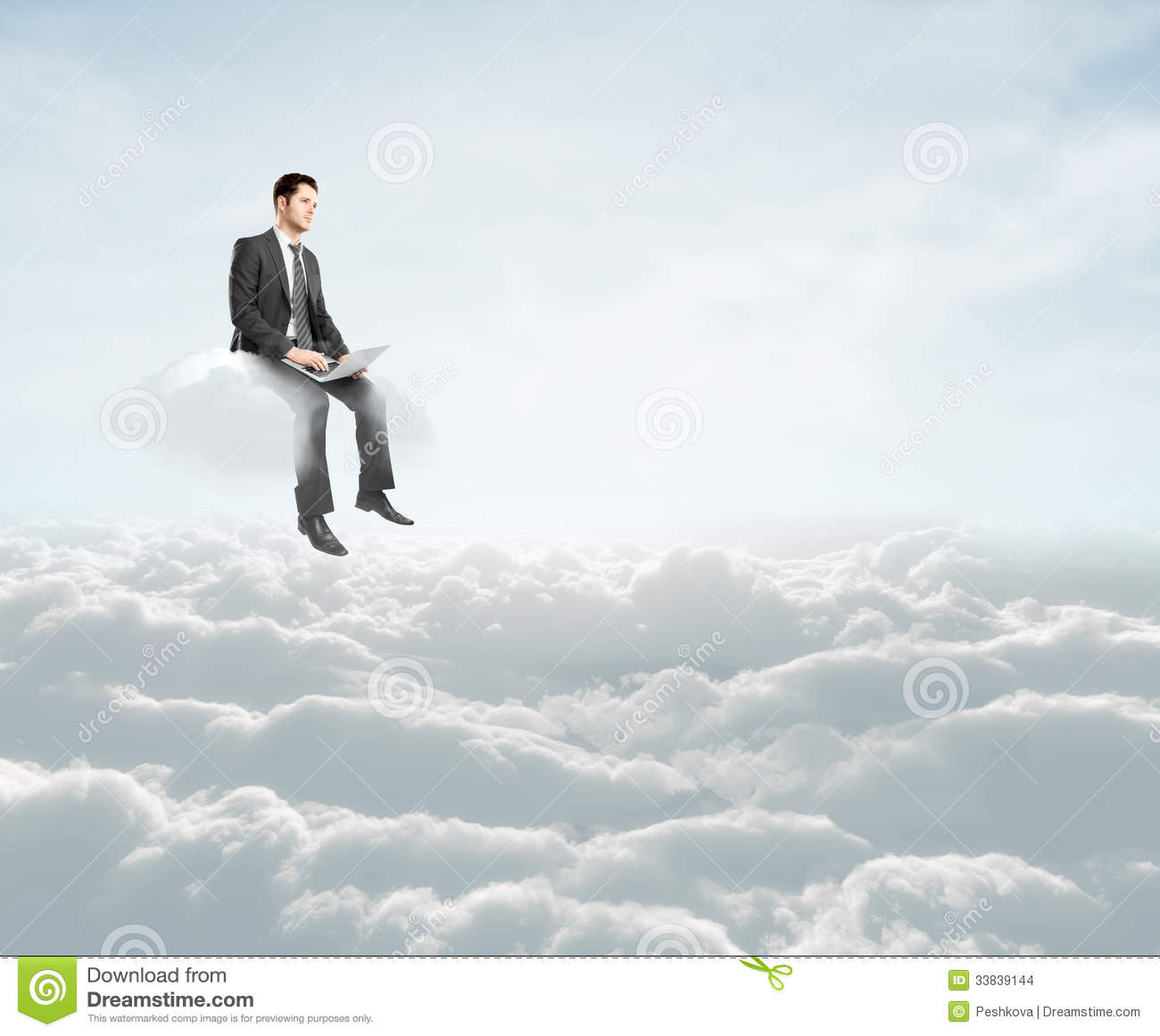Man Sitting On Cloud Stock Photo Image Of Contemporary 33839144 Sur.ly for wordpress sur.ly plugin for wordpress is free of charge. dreamstime com