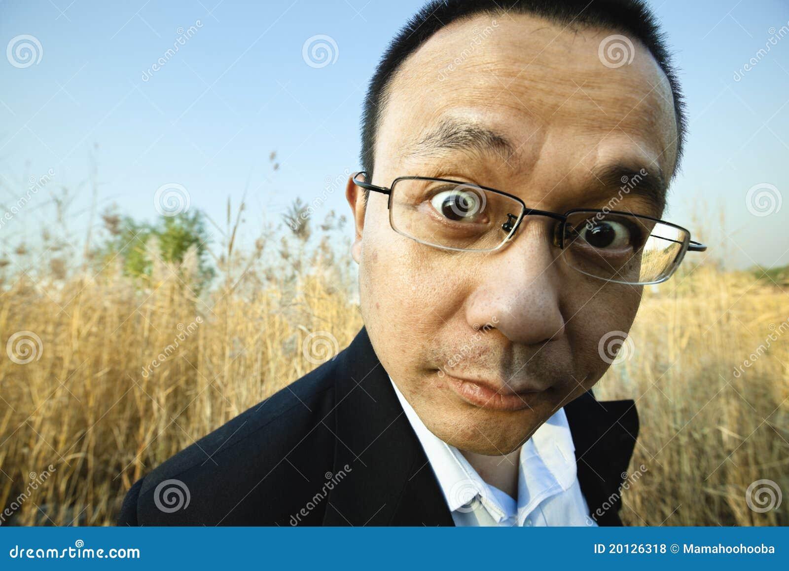 man staring at camera stock photo image of expression