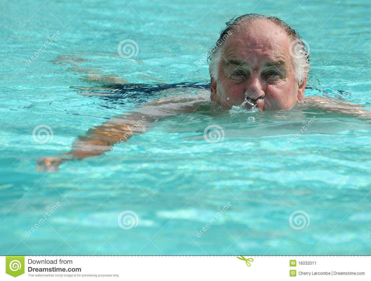 Man in swimming pool stock image image 16032011 for Pool man show