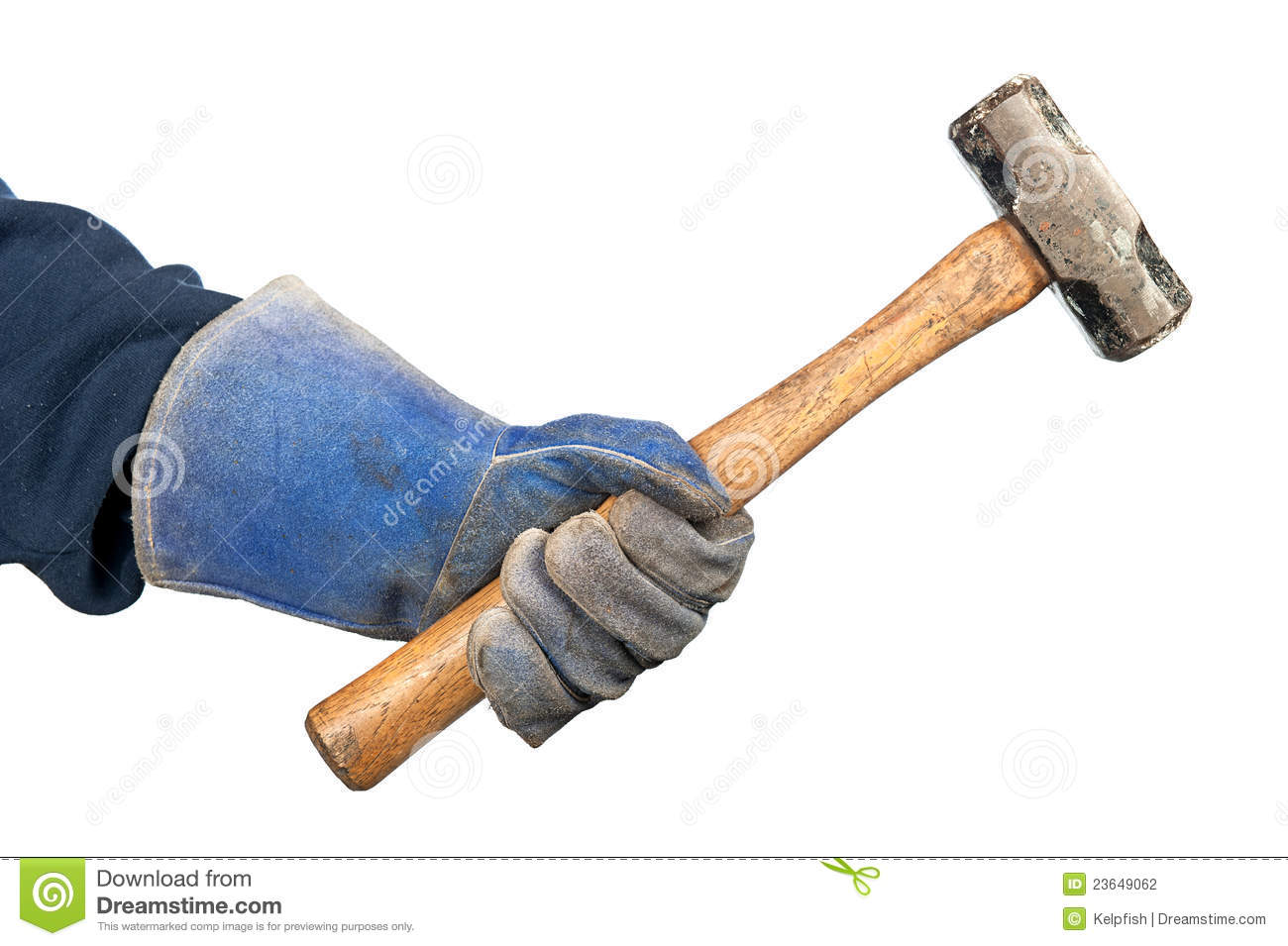 swinging sledge hammer