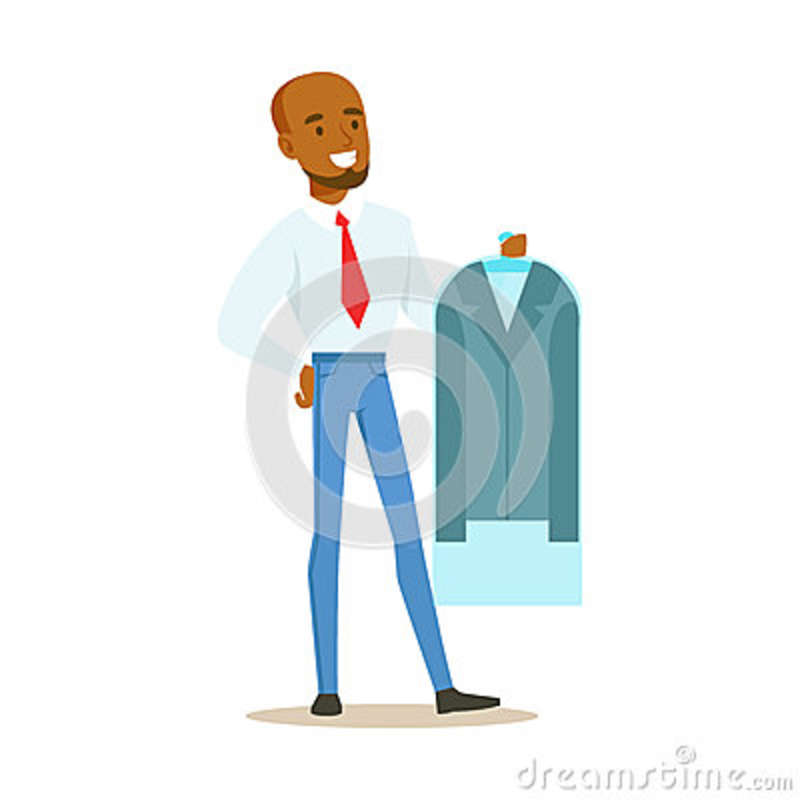People Cleaning Services : Cartoon man cleaning cartoons illustrations vector