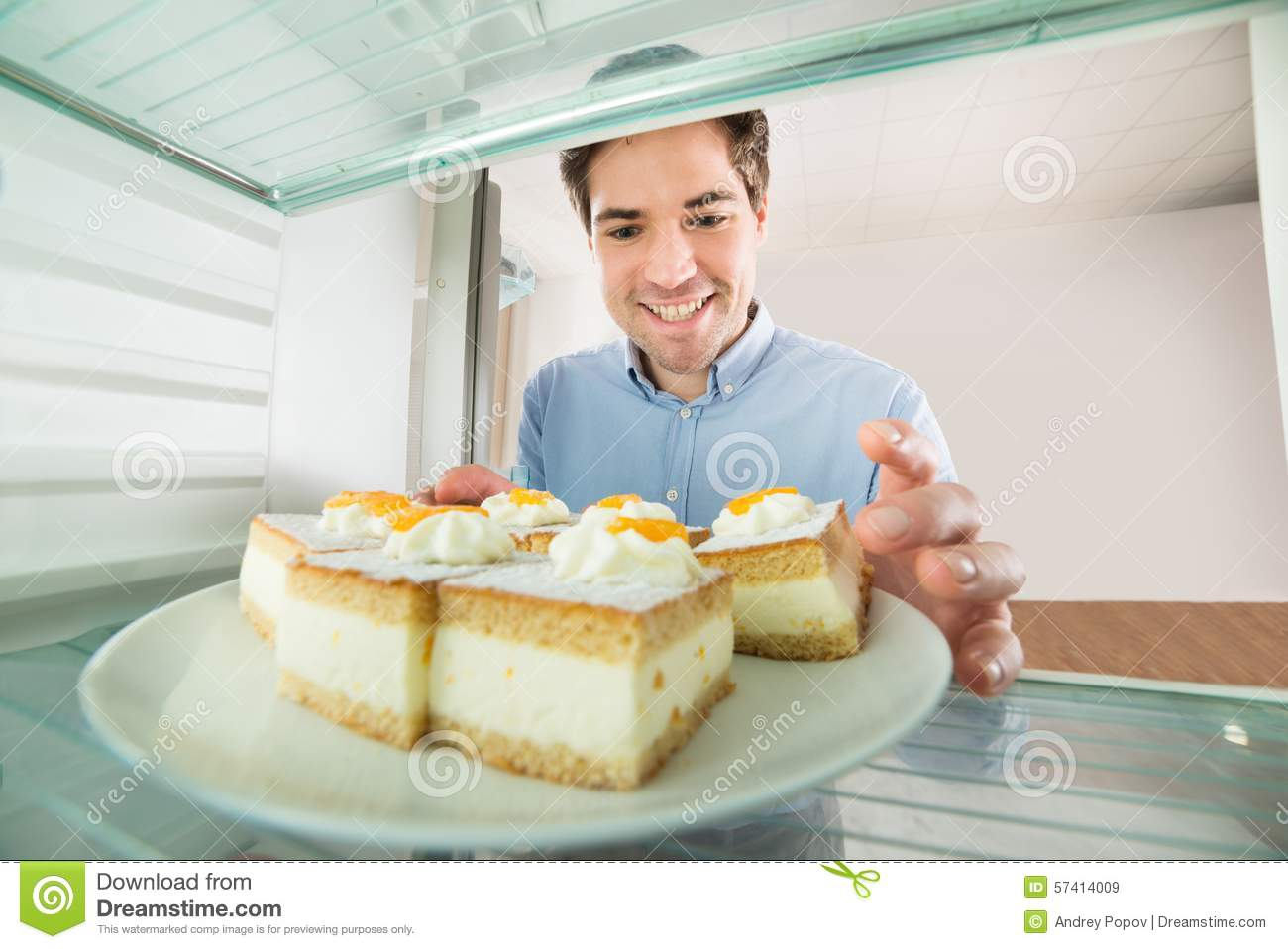 Handsome Man With Cake Ideas and Designs