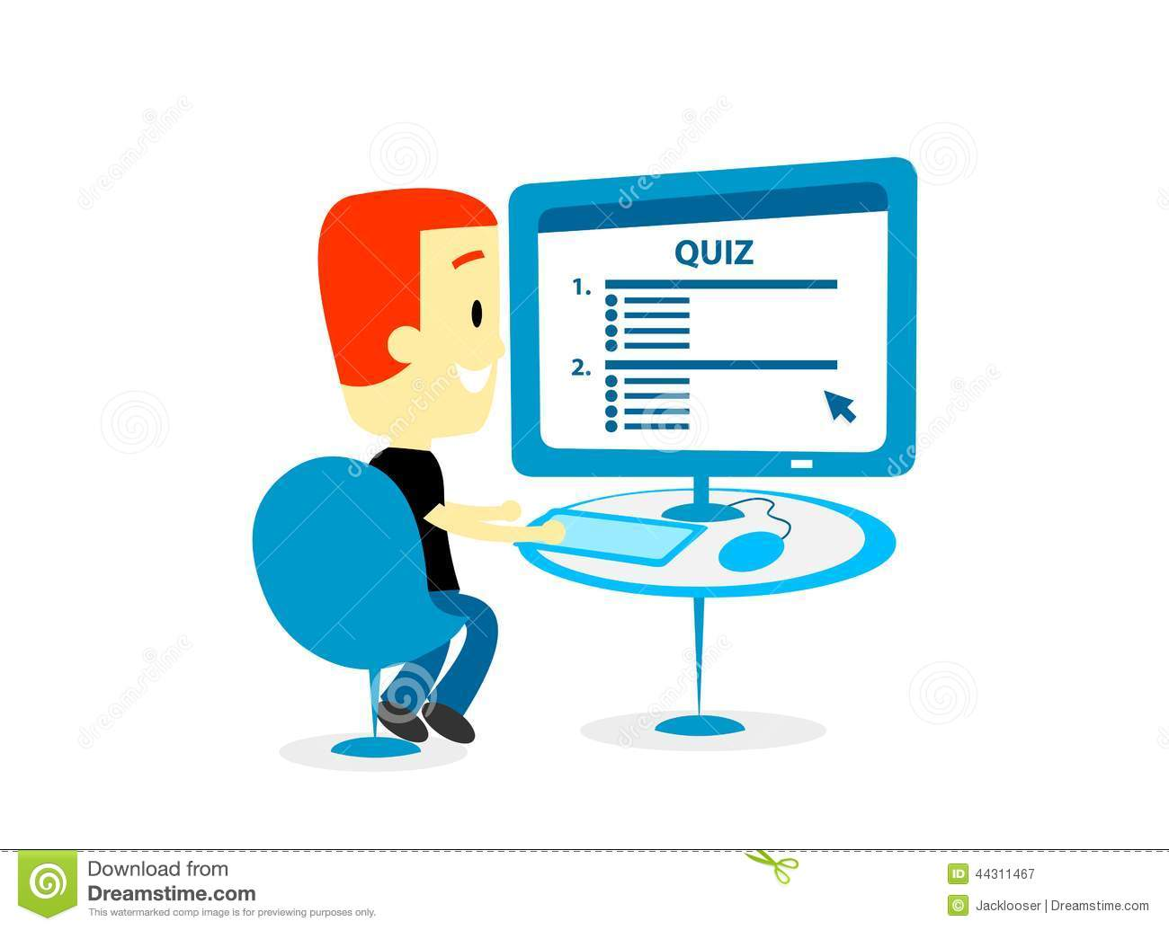 quiz in computer This software program allows you to generate your own on-screen interactive quizzes supports multiple choice and fill in the blank style tests quizzes can also be printed out for use in conventional pencil/paper tests.