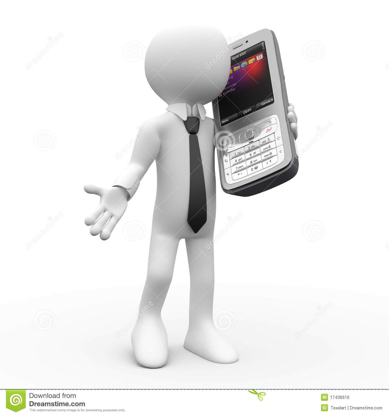 Man Talking On Mobile Phone Royalty Free Stock Images ...