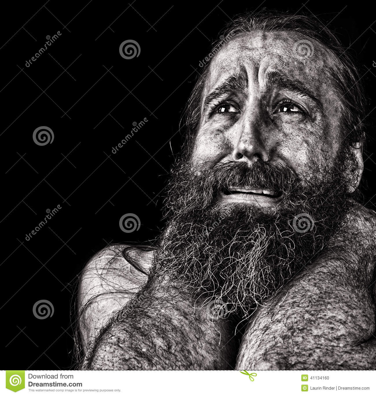 Swell Man In Tears Stock Photo Image Of Tears Crying Depression Interior Design Ideas Inesswwsoteloinfo