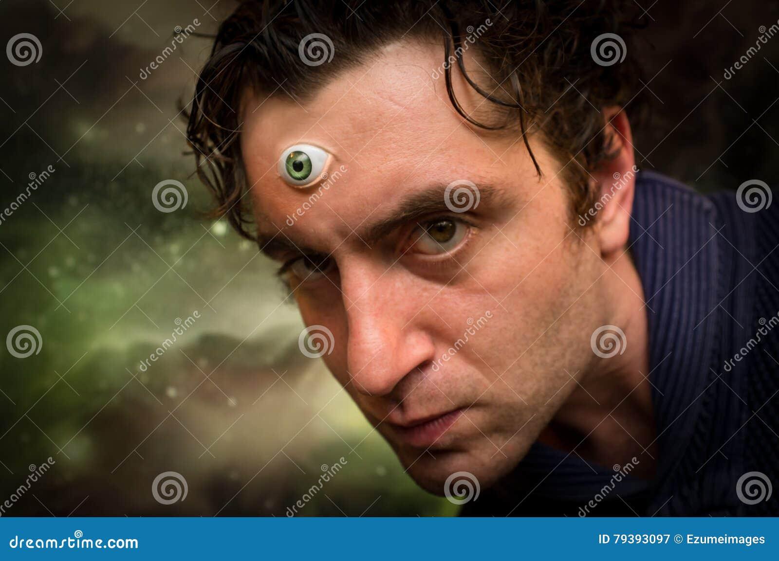Man Third Eye