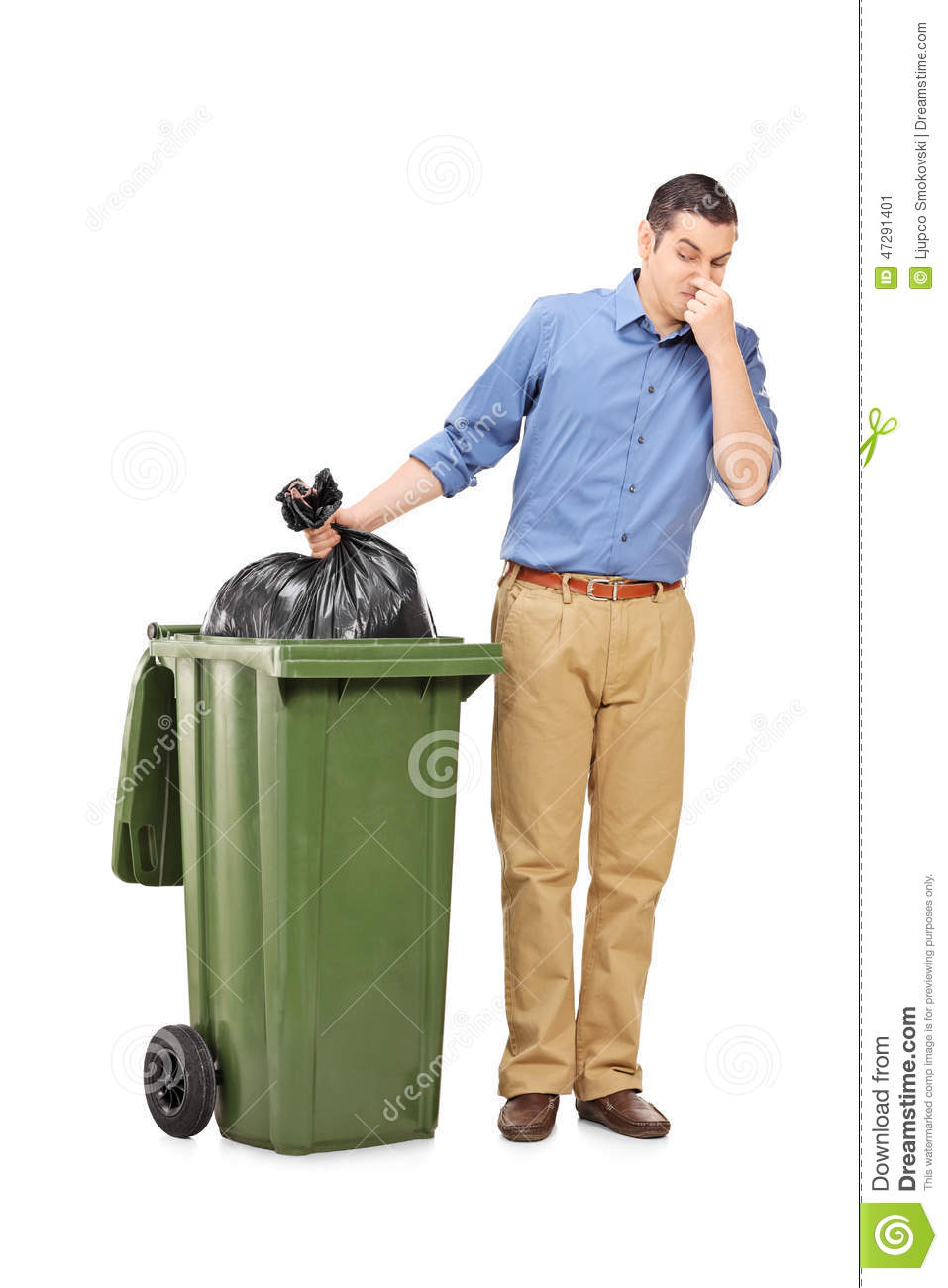 man throwing out a stinky bag of trash stock photo image dumpster diving clipart dumpster clip art images free