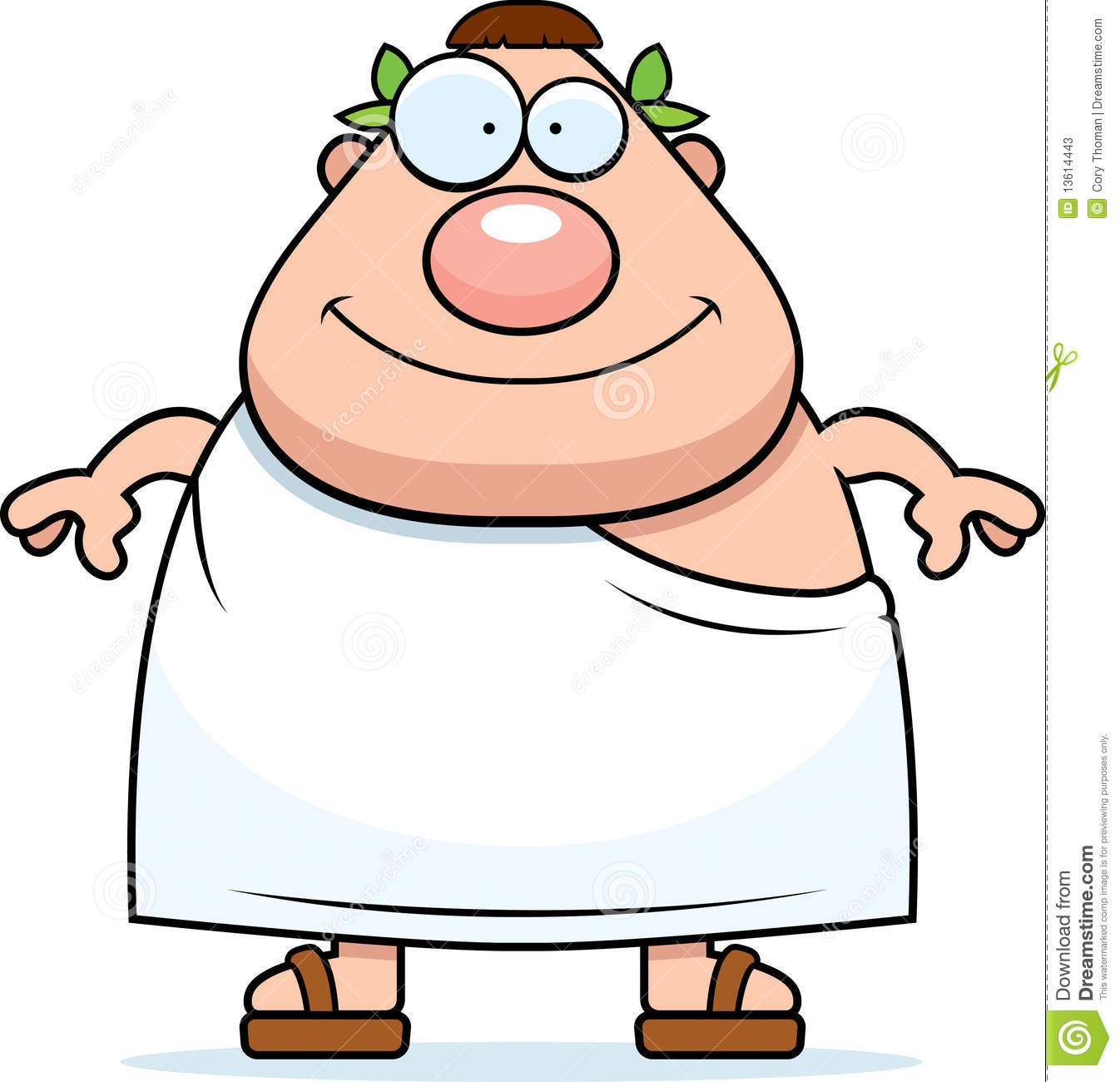 man in toga stock photos image 13614443