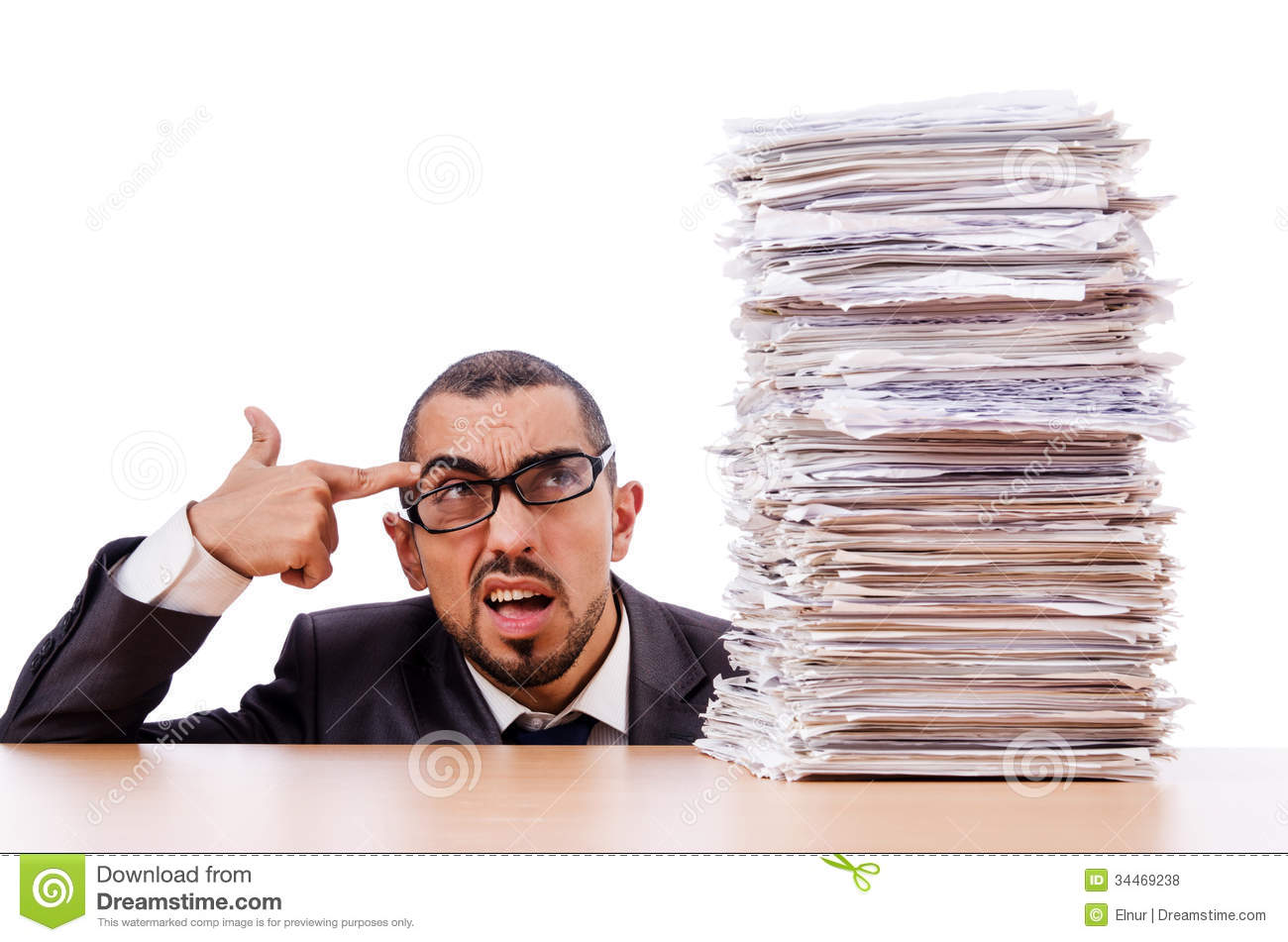 man too much work royalty stock photos image  man too much work