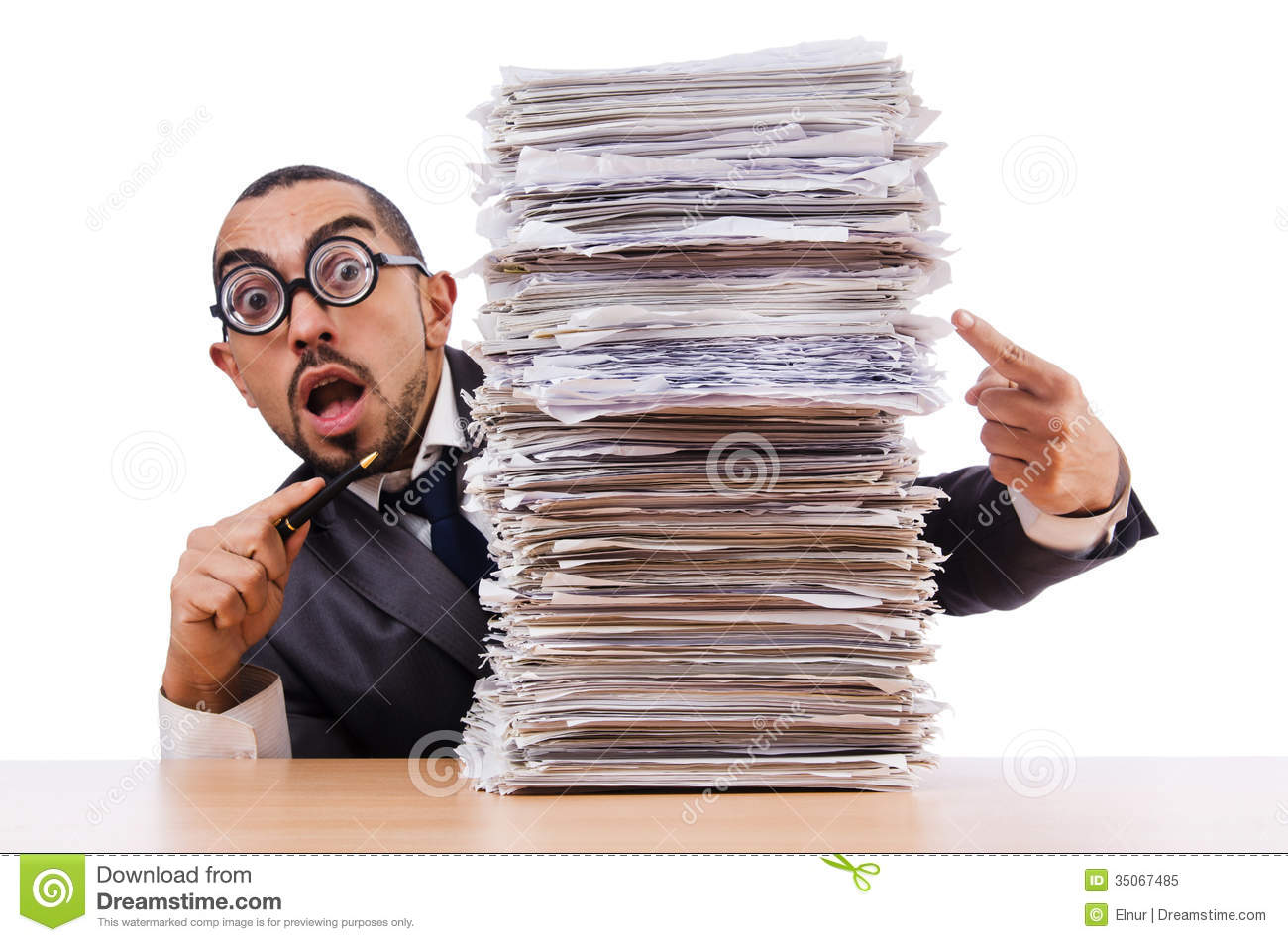man too much work stock images image  man too much work royalty stock photo