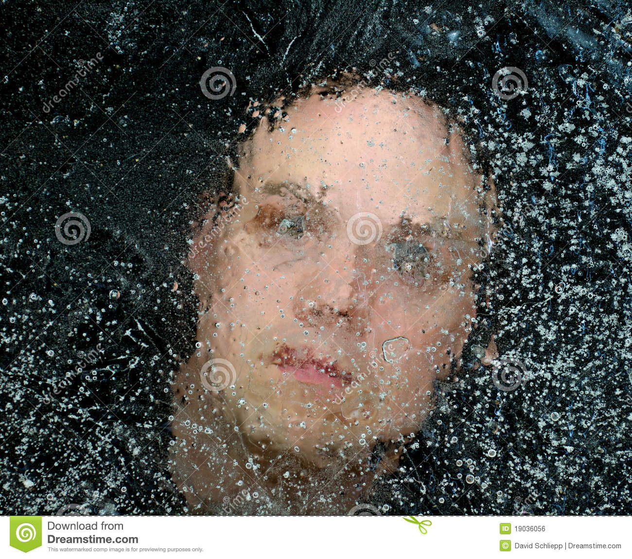 Trapped By Ice Up To Her Eyeballs And >> Man Trapped Under Ice Stock Photo Image Of Scary River 19036056