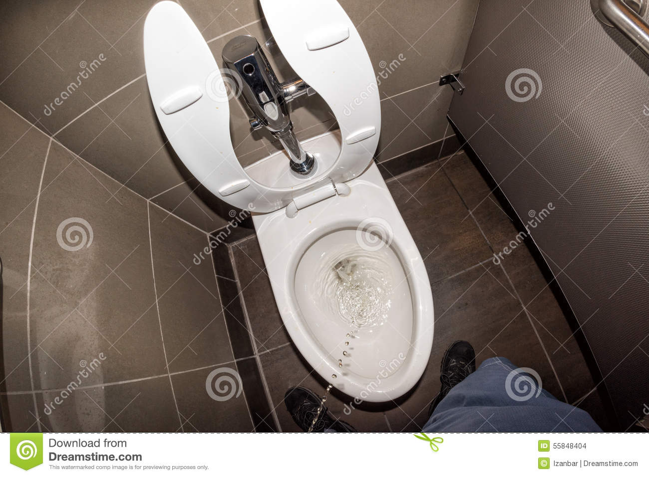 Trouble Peeing In Public Restrooms