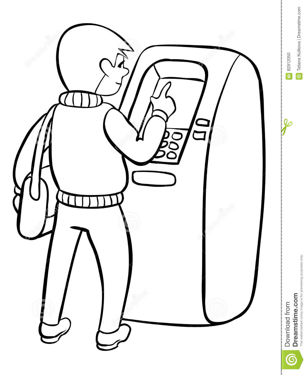 bank themed coloring pages - photo#43