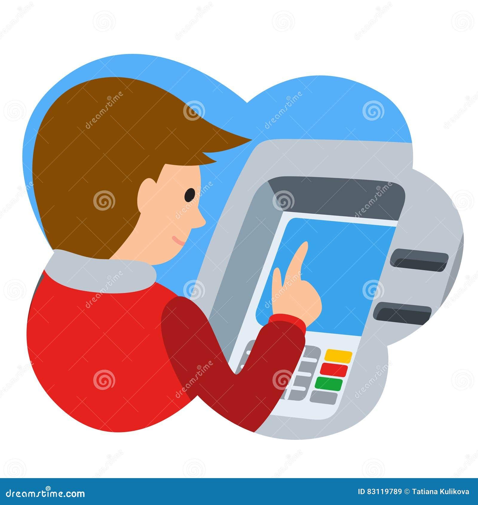 ATM Clip Art People – Clipart Download