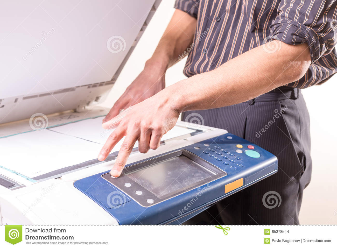how to make copies on a copy machine
