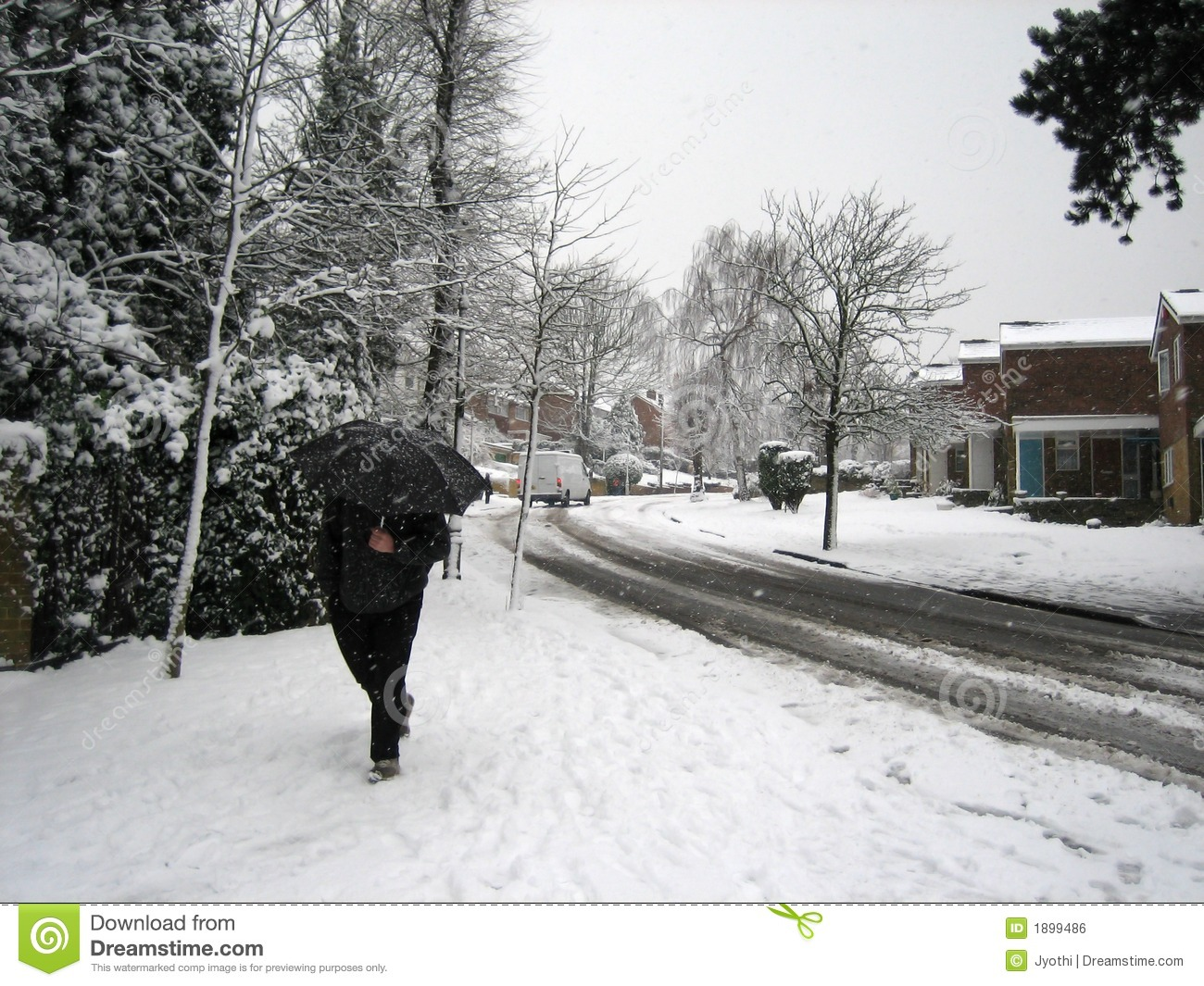 walking in the snow - photo #30