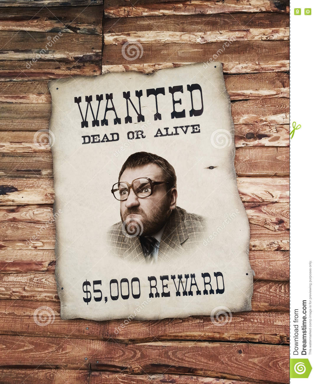 Man on the wanted list