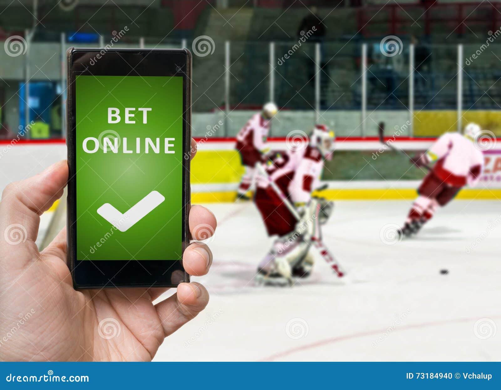 online hockey betting