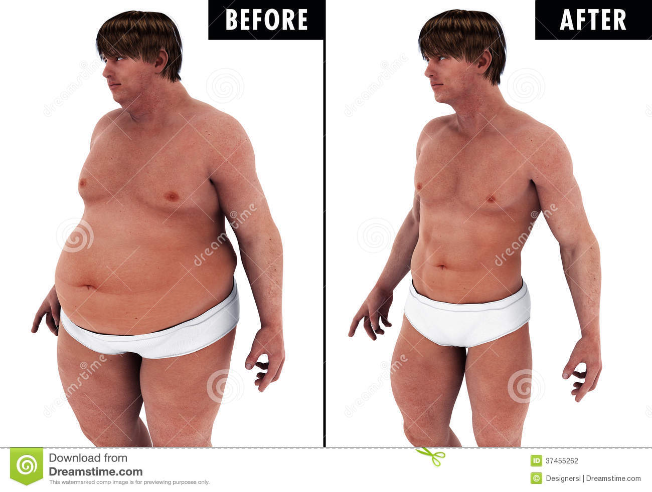 Excellent body transformations before and after
