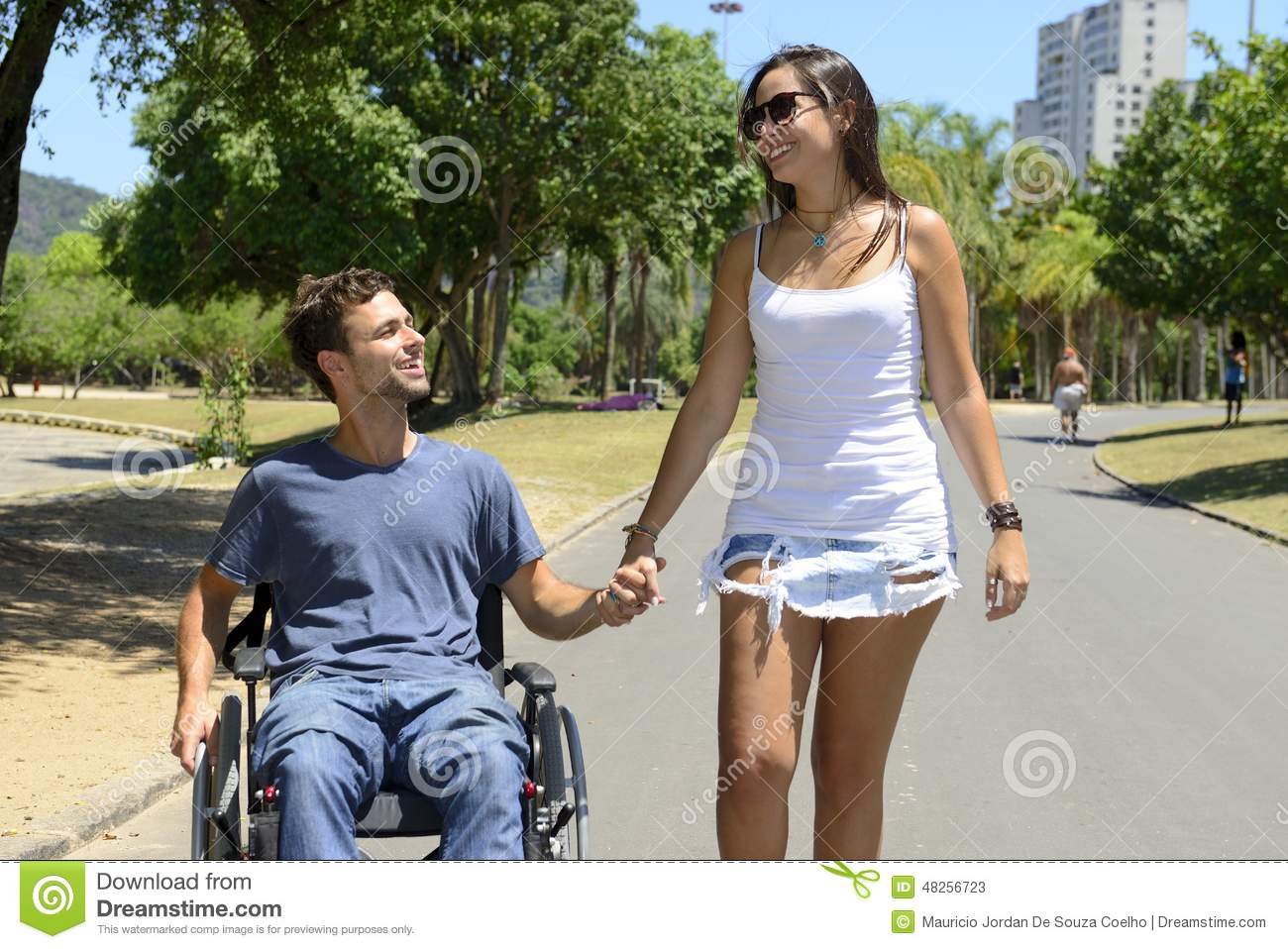 Dating handicapped persons