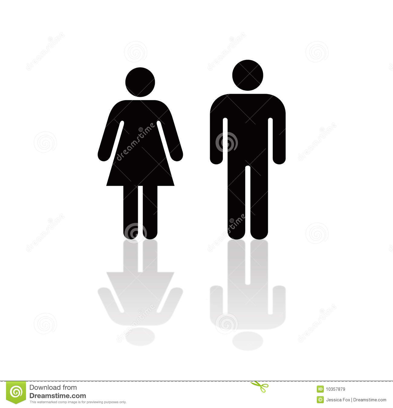 man and woman icon royalty free stock images