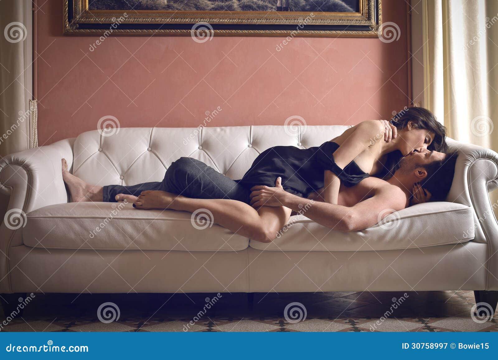 man fucking woman passionately