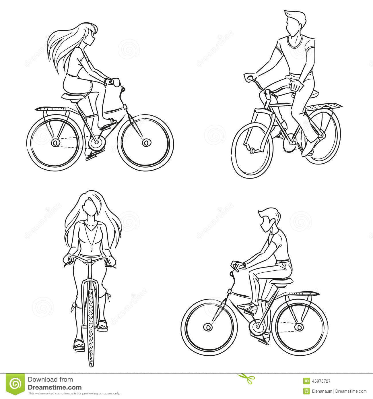 How To Draw An American Crow in addition Statue of liberty further 8808 Cleaning The Bathroom Coloring Page in addition Wedding Silhouettes additionally Stock Illustration Man Woman Riding Bicycle Young Girl Guy Wearing Summer Clothes Front Profile View Vector Monochrome Drawing Lines Image46876727. on s lady cartoon
