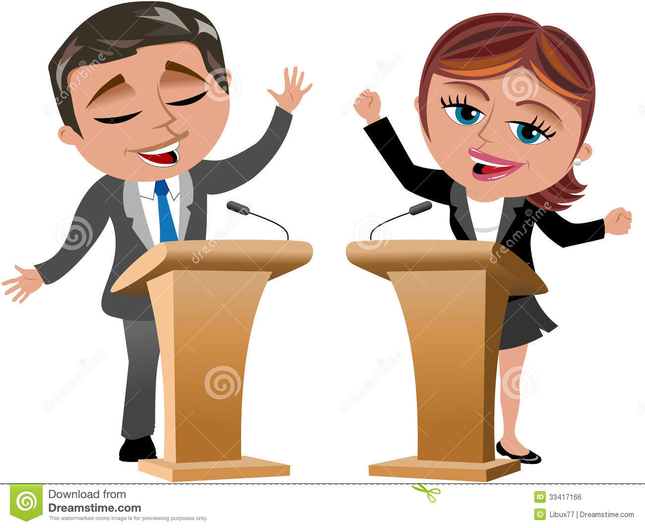 man woman speakers speaker isolated royalty free stock public speaking clipart free public speaking clss