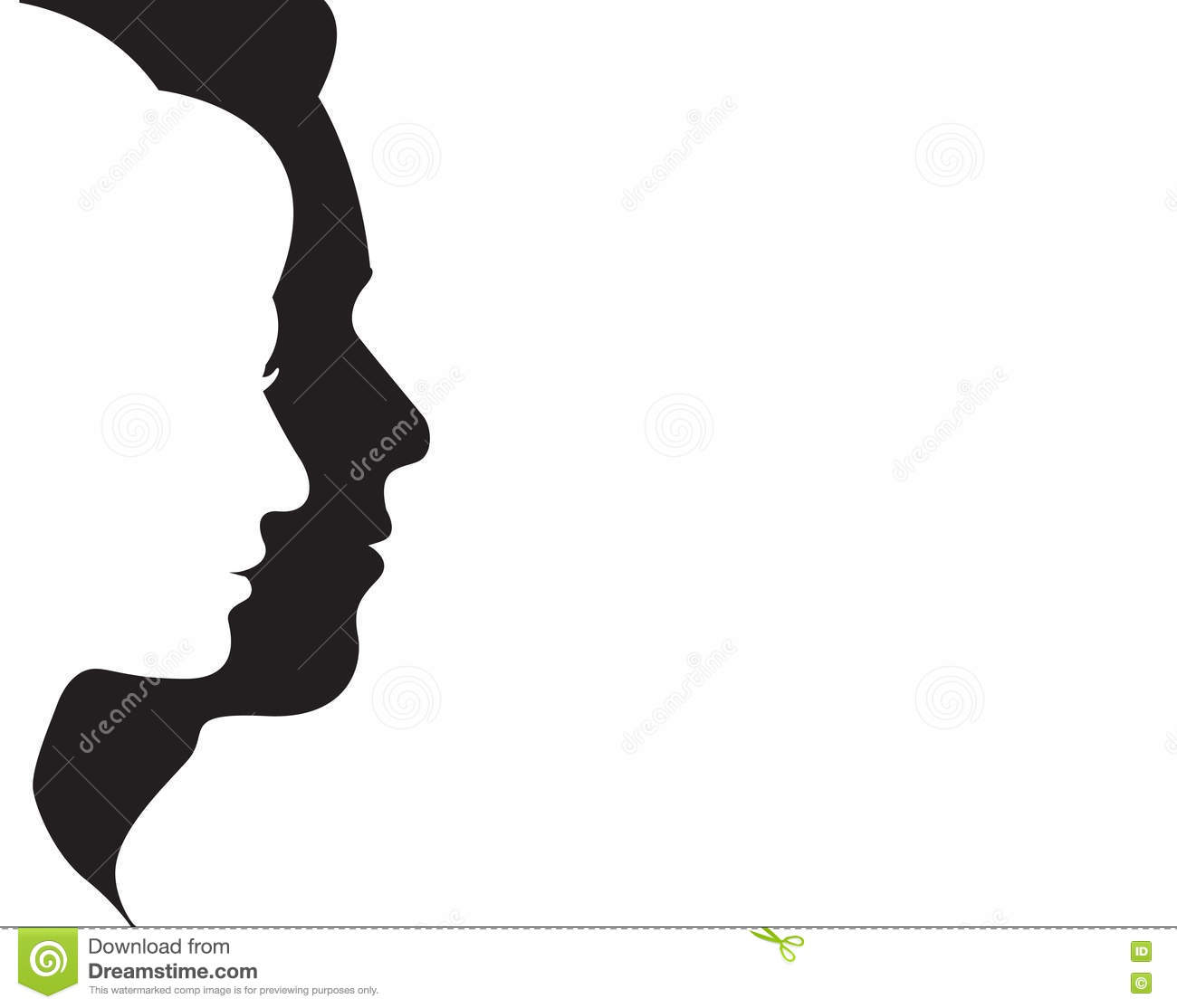 Man And Woman Symbol Vector Stock Vector Illustration Of Internet