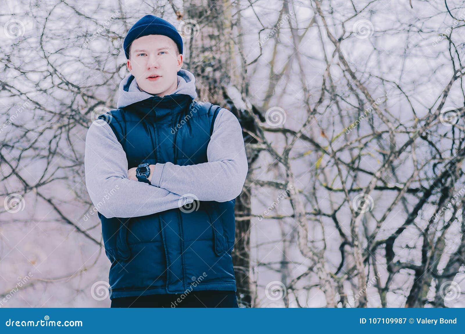 Man In Wood