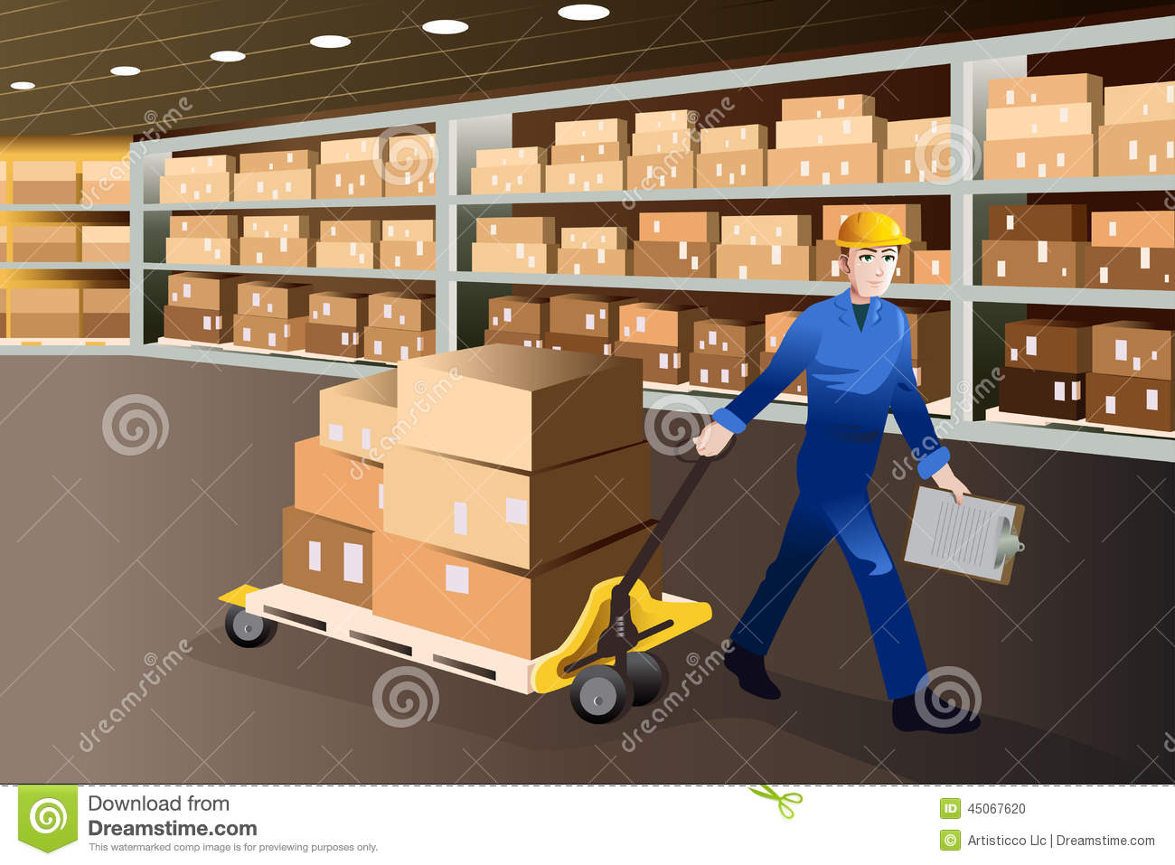 man working in a warehouse stock vector image 45067620 grocery cart clip art free grocery cart clip art free