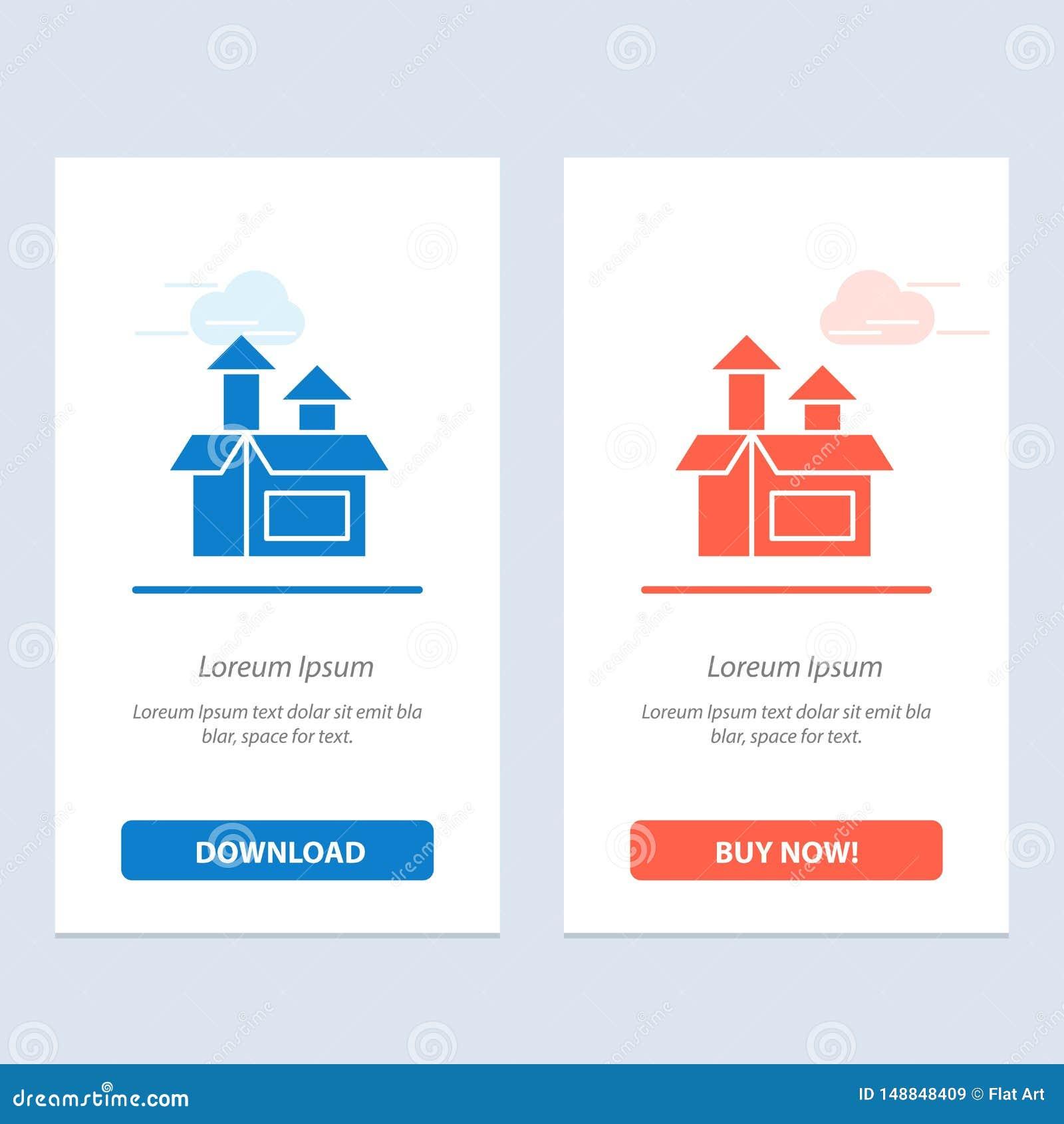 Management, Methode, Leistung, Produkt-Blau und rotes Download und Netz Widget-Karten-Schablone jetzt kaufen