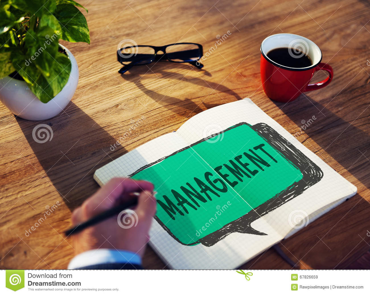 managing organization Management definition is - the act or art of managing : the conducting or supervising of something (such as a business) how to use management in a sentence the act or art of managing : the conducting or supervising of something (such as a business) judicious use of means to accomplish an end.