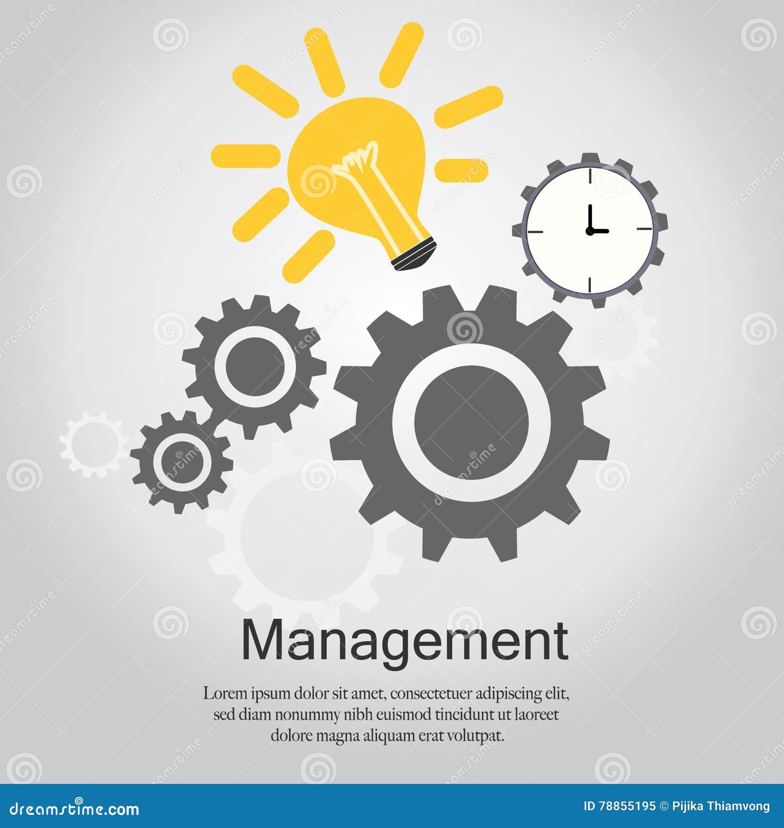 Management-Vektor