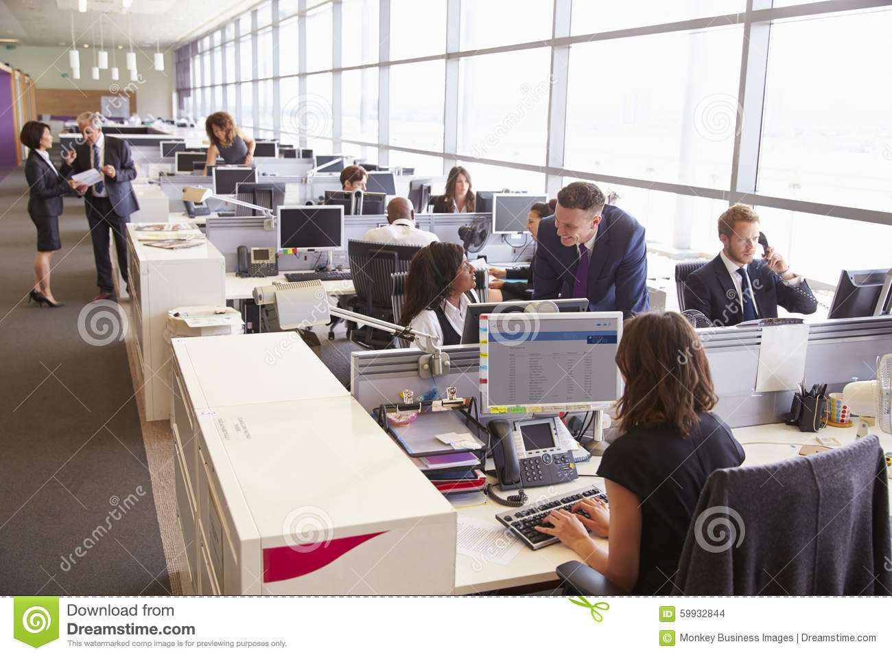 how to deal with an open office