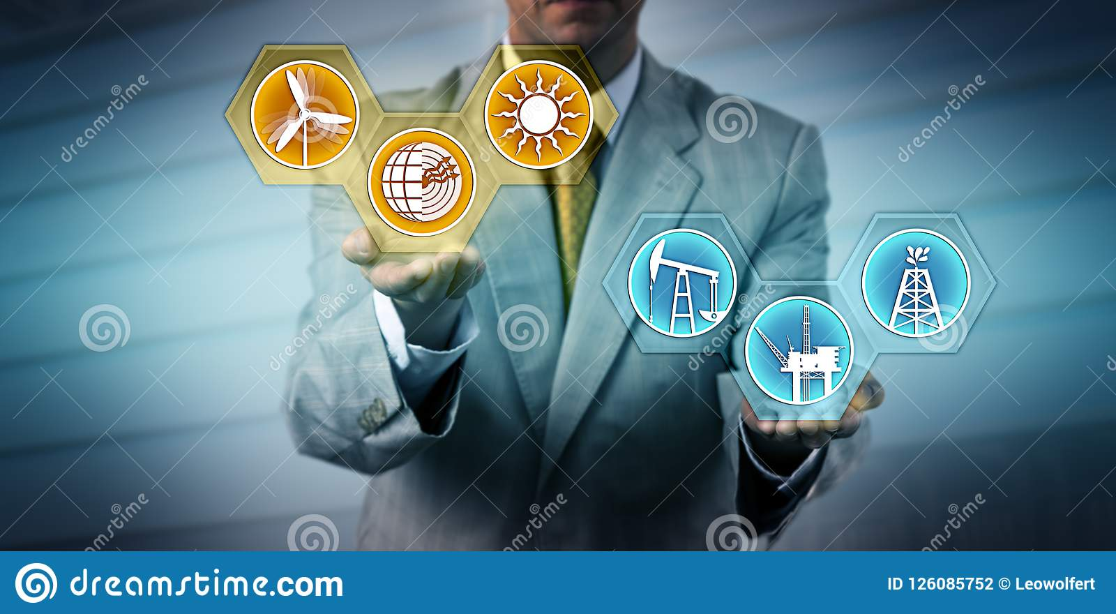 Manager Lifting Renewable Above Fossil Energy