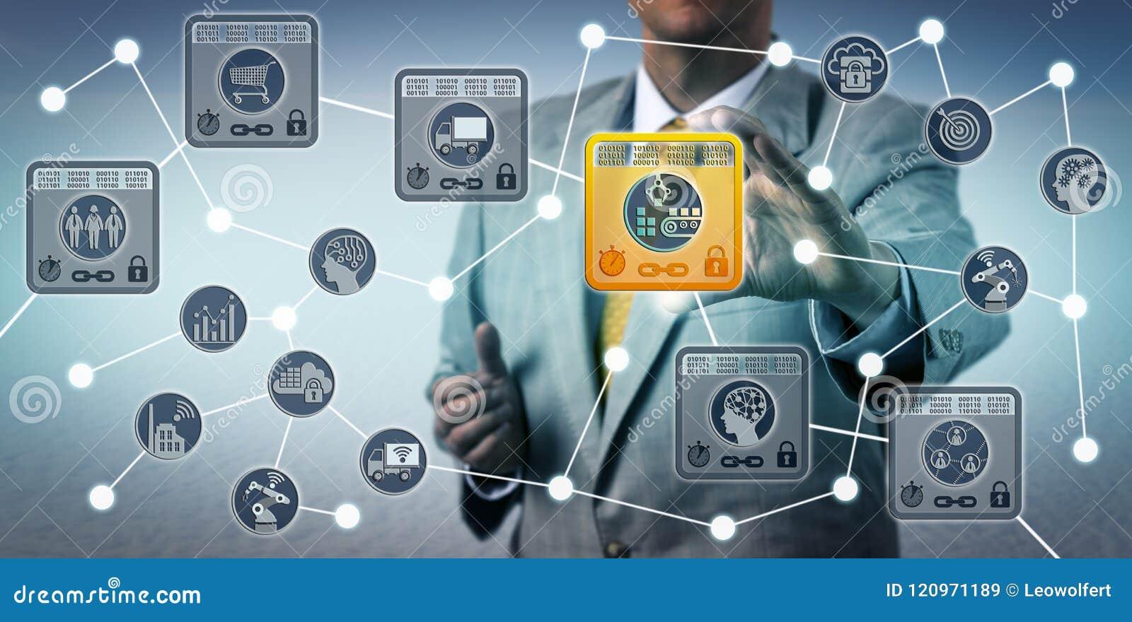 Manager Securing Data Integrity van Leveringsketen