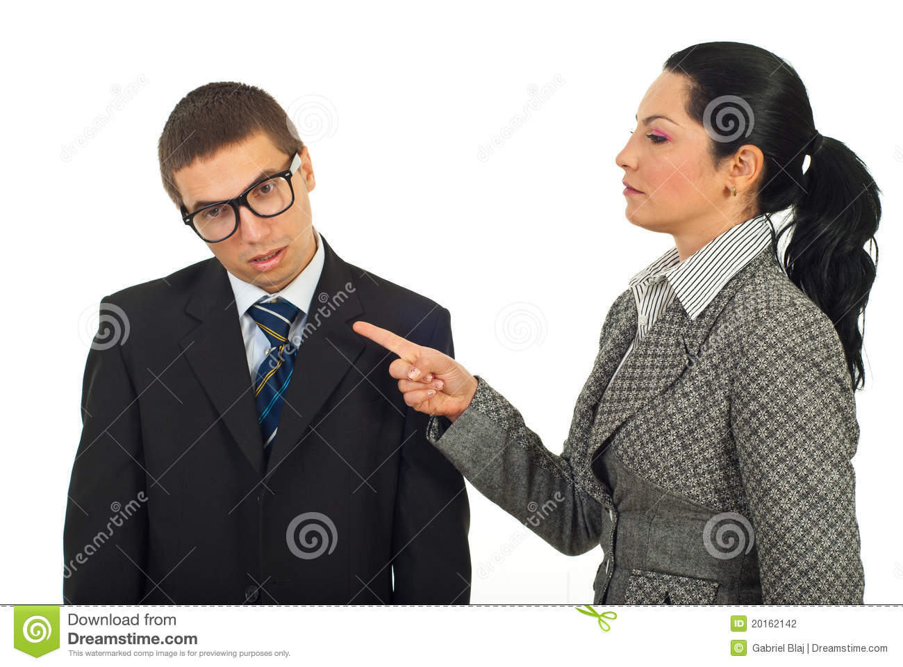 Accuse Royalty-Free Stock Photo | CartoonDealer.com #24625893