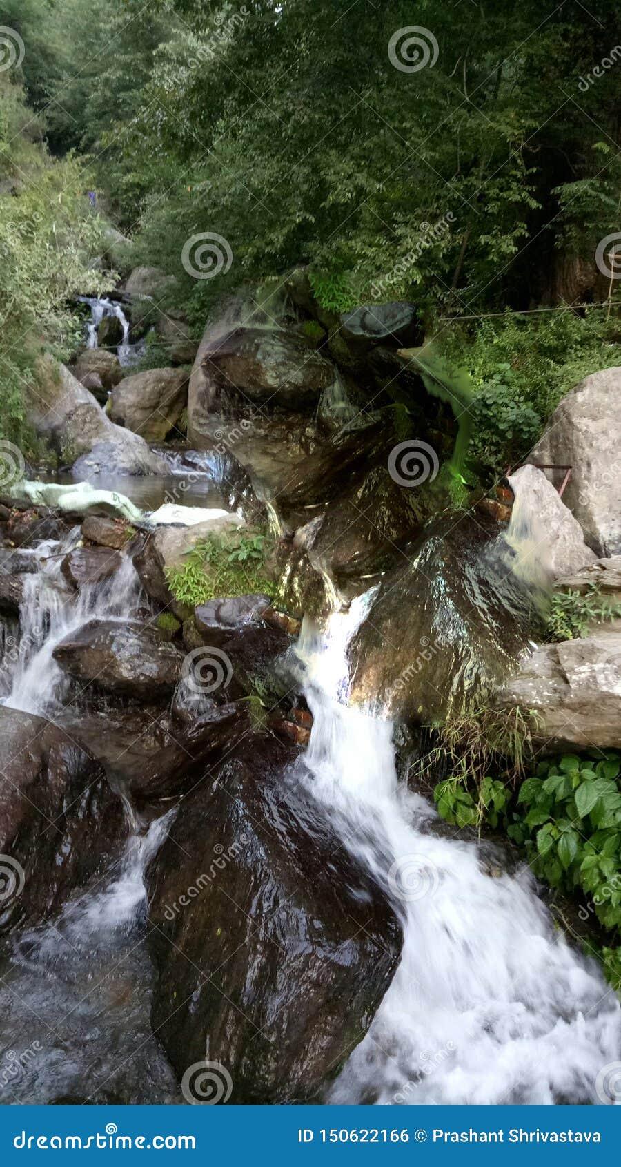 Manali incroyable plein des paysages