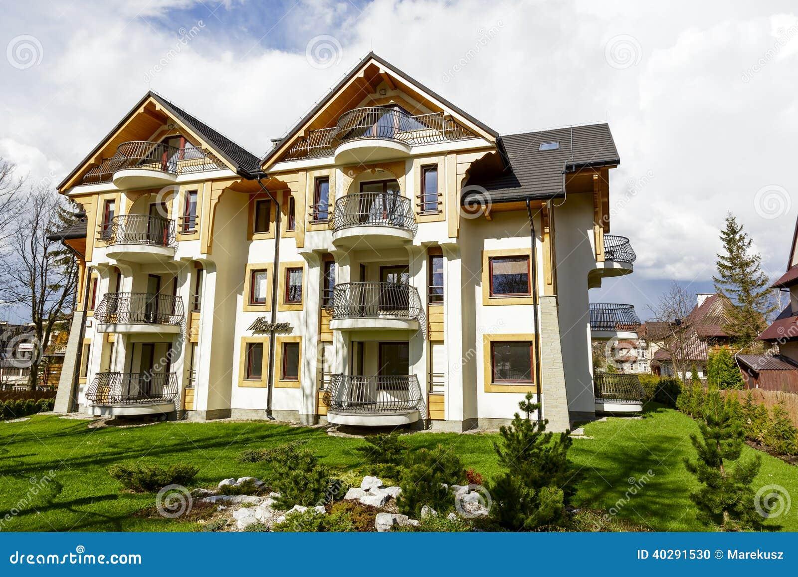 Manaru, жилой дом в Zakopane